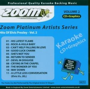 Elvis Presley - Zoom Karaoke CD+G - Elvis Presley 2 - ZPA02 - Zortam Music