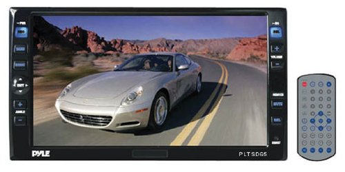 Double Din Touch Screen 6.5'' Motorized Tft-Lcd Monitor W/Dvd/Cd/Mp3 Player & Am/Fm/Tv Tuner
