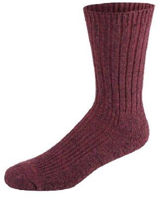 Wigwam Mills Inc F3033-369 Women's Merino Wool Crew Silk Sock, Medium, Rose