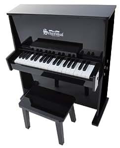 Schoenhut 37 Key Day Care Durable Upright Piano (Black)