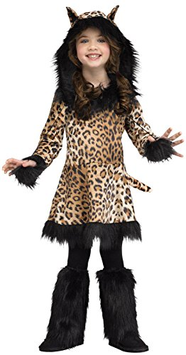 Natural Leopard Costume For Kids - (4-6)