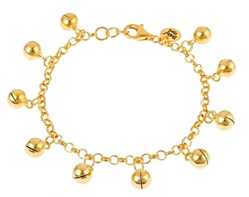 layered clasp gold with ankle bracelet anklet ring ball spring