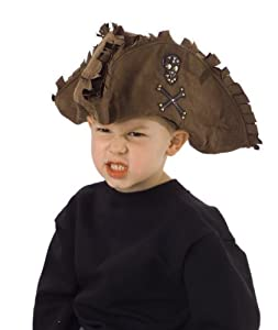 Kid's Tattered Pirate brown