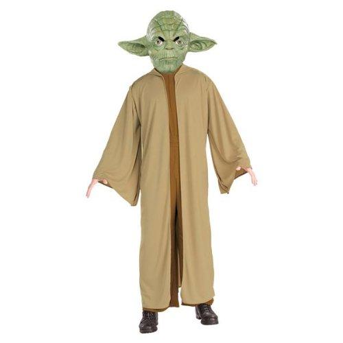 Costume Carnevale Halloween Yoda Star Wars Guerre Stellari film - adulto Extra Large