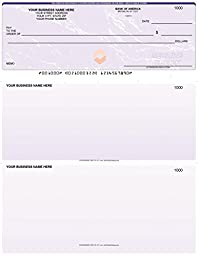 ABC Check Printing QuickBooks Payroll Business Checks (20 Sheets) - Laser-Printed Vouchers - Professional Bookkeeping for Accountant Records - Envelope Size