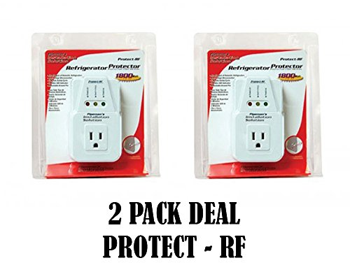 2 Pack Voltage Protector Brownout Surge Refrigerator 1800 Watts Appliance (Appliance Surge Protector compare prices)