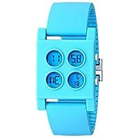 [オーディーエム]o.d.m 腕時計 Bloc (ブロック) デジタル表示 クロノグラフ・デュアルタイム機能付き パープル DD106-5 メンズ 【正規輸入品】
