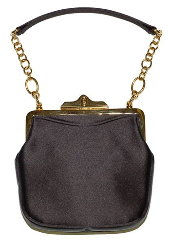 Ralph Lauren Collection Black Evening Purse Bag
