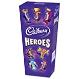 Cadbury Heroes Miniature Chocolates Selection Box 220g Ref A07033