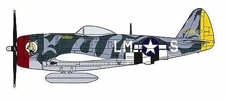 Maquette avion: P-47D Thunderbolt American Aces