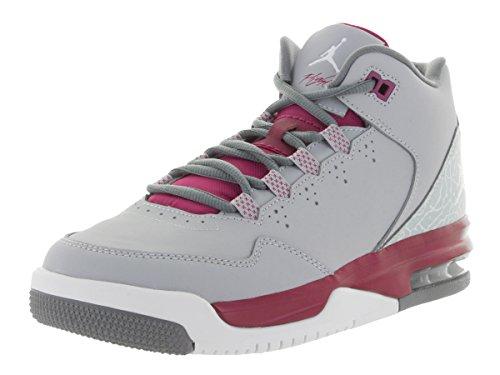 quality design cf4ef 8b1d7 Nike Kids Jordan Flight Origin 2 GG Wlf Gry/White/Sprt Fchs/Cl - Import It  All