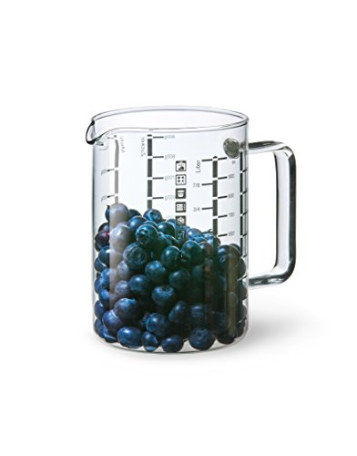 Simax Glassware 3843 4-Cup Cooking And Measuring Cup, Large