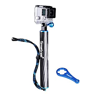 Smatree Floating SmaPole F1 Handle Grip for GoPro Hero 4 3+ 3 2 HD