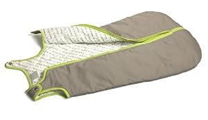 Baby Deedee Sleep Nest Baby Sleeping Bag, Khaki/Lime Green, Small