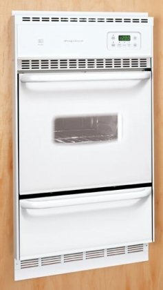 """Frigidaire Fgb24L2A 24"""" Single Gas Wall Oven With Ready-Select Controls And Ada, White"""