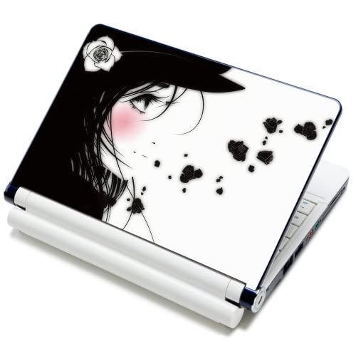 15 15.6 inch Laptop Notebook Skin Sticker Cover Art Decal Fits Laptop Size of 13 13.3 14 15 15.6 16 HP Dell Lenovo Asus Compaq Asus Acer Computers (Free Wrist Pad)