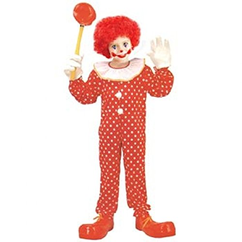 Deluxe Kid Clown Costumes (Large)