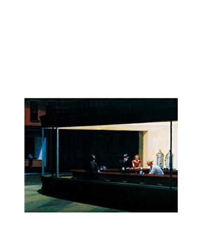 ARTOPWEB muurschildering Hopper Falchi Della Notte 80 x 60 cm