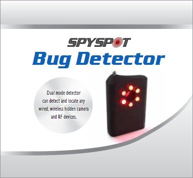 Camera Lens Bug Detector RF Finder Bug Sweep By Spy Spot Investigations