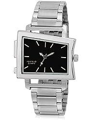 Fostelo Men's Black Dial Analog Wrist Watch (FST-71)