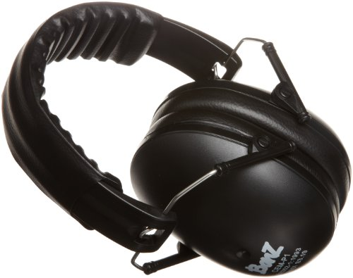Baby Banz Noise Protection Ear Muffs , Black,2-10 Years Adult