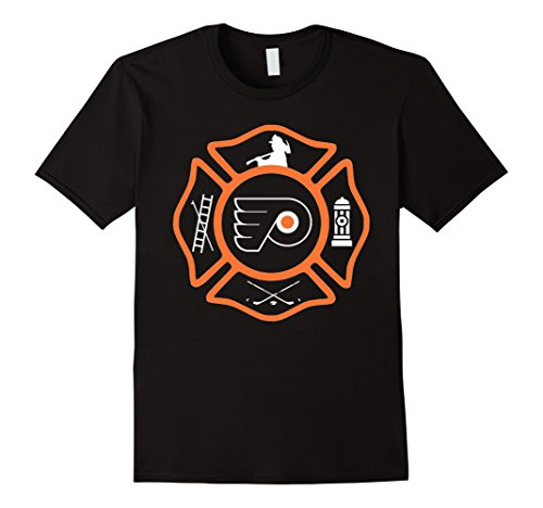 Men's Philadelphia Fire - Flyers style XL Black (Ems Turnout Gear compare prices)