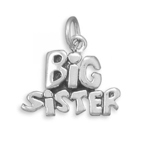 MMA Silver - Big Sister Charm