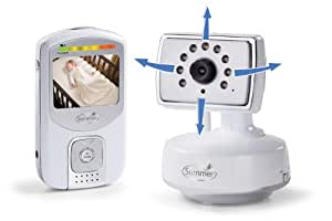 Summer Infant Best View Handheld Color Video Monitor, Sliver/White (Discontinued by Manufacturer)