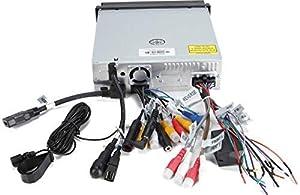Jensen VX4014 7-Inch 1 DIN DVD CarPlay Receiver (Tamaño: Double DIN)