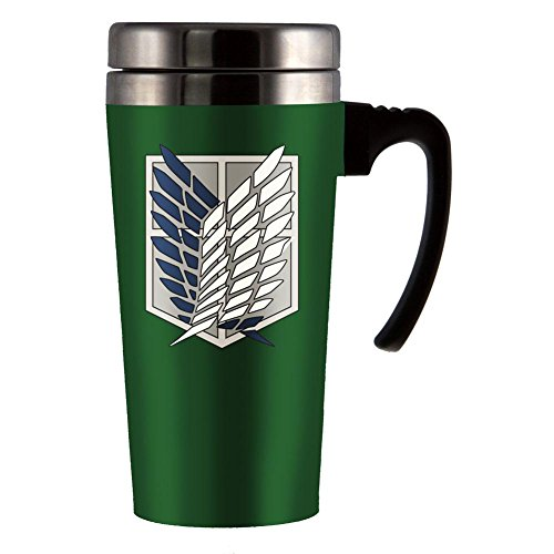 Attack On Titan - Scout Logo Travel Mug (Aot Merchandise compare prices)