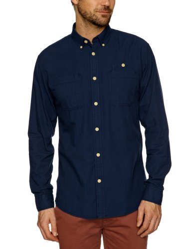 Jack and Jones West Original Men's Shirt Dress Blue XX-Large