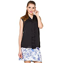 Folklore Women's Top (FOTP000107_Black_Small)
