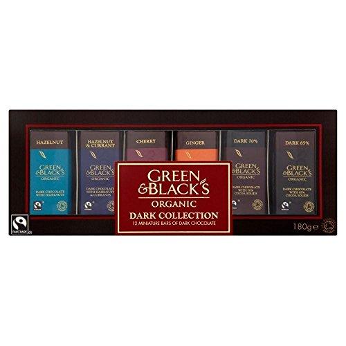 Green & Black's Organic Dark Miniature Bars Collection (12 per pack - 180g)