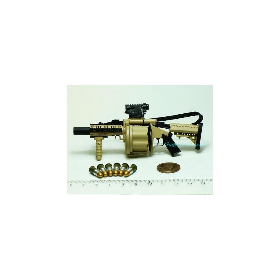 1:6 Scale Model Multiple Grenade Launcher Desert Camouflage MODEL MGL-105 MGL/_1