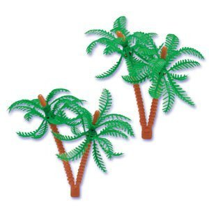 12 ct Palm Trees for Cake Decorating [Toy]