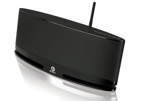 Boston Acoustics MC200 AIR Lautsprechersystem (DLAN, AirPlay, AUX-IN) schwarz