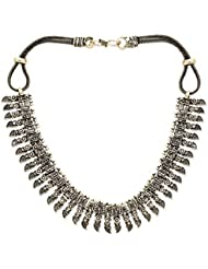 German Silver Necklace For Women: The Kyrgyz Tribe Necklace
