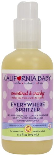 California Baby Everywhere Spritzer - Overtired & Cranky - 6.5 oz - 1