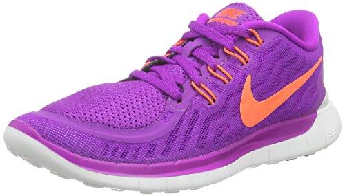 Nike Women's Free 5.0 Running Shoes, Purple (Purple), 6 UK