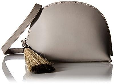LOEFFLER RANDALL Pouch (Leather/Horse Hair) Convertible Cross-Body