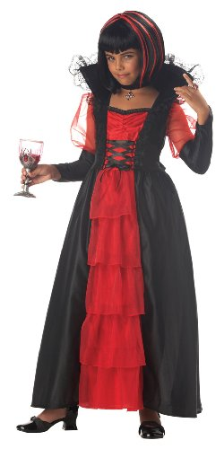 California Costumes Vampiress of the Night Kids Costume