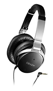 Denon AH-NC800 Advanced Noise Canceling Headphones (Black)