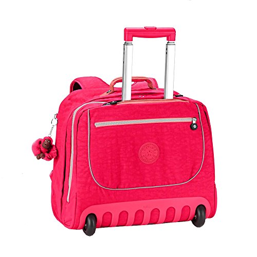 Kipling - Zaino con rotelle - CLAS DALLIN - Flamb Shell C (Flashy Rosa)