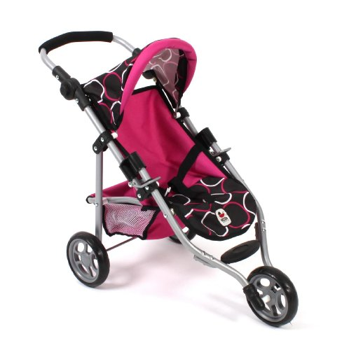 Chic 2000 Bayer Jogging Buggy Lola Orbit Doll'S Pram (Fuchsia)