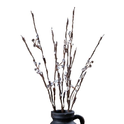 Your Heart's Delight 36 White Branch Lights, 26-Inch, Crystals (Electric Branch Lights compare prices)