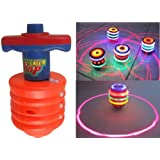 Super Power Laser Top Flashing And Sound Gift Toy For Kids