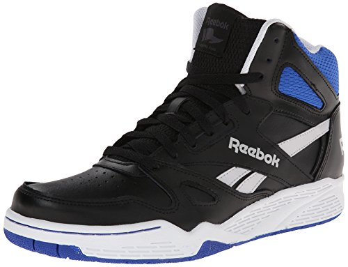 Reebok Men's Royal BB4500 Hi Basketball Shoe, Black/Steel/White/Collegiate Royal, 9.5 M US (Reebok High Top Shoes compare prices)