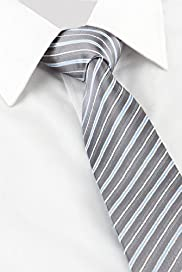Striped Sheen Tie