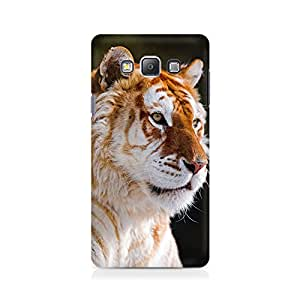 Mobicture Tiger White Premium Printed Case For Samsung On 7