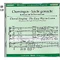 Chorsingen - leicht gemacht - Lernen im Selbststudium - Brahms, Ein deutsches Requiem - Chorstimme Bass - MPC 3672-4 - 2 Audio-CD's